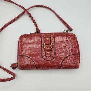 3/$20 Crossbody faux leather wallet crossbody bag